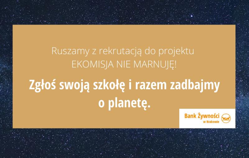 EKO MISJA – startujemy z projektem edukacyjnym dla szkół!